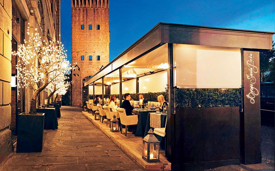 La Bottega Del Buon Caffè - Ατμοσφαιρικό περιβάλλον σε ένα από τα καλύτερα εστιατόρια της Φλωρεντίας.