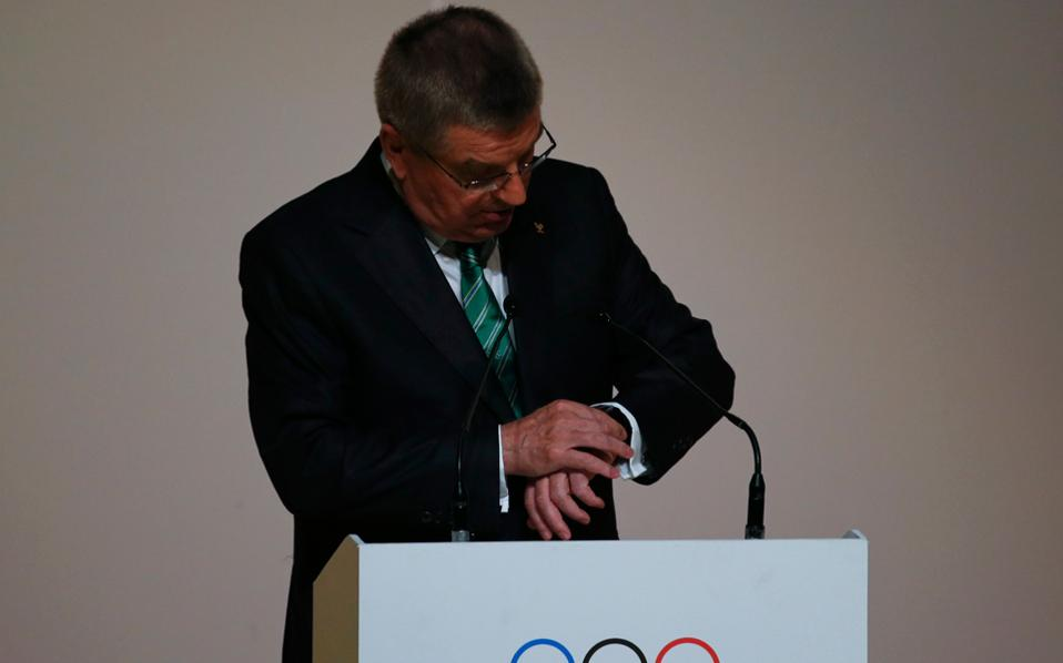 O Tόμας Μπαχ πιστεύει πως τώρα είναι ο κατάλληλος χρόνος για τη ΔΟΕ να κινηθεί και να κλείσει τα ανοικτά μέτωπα. Ηδη, με τον WADA οι σχέσεις ομαλοποιήθηκαν. Απομένει να δούμε αν και στο ρωσικό ζήτημα θα υπάρξει λύση.