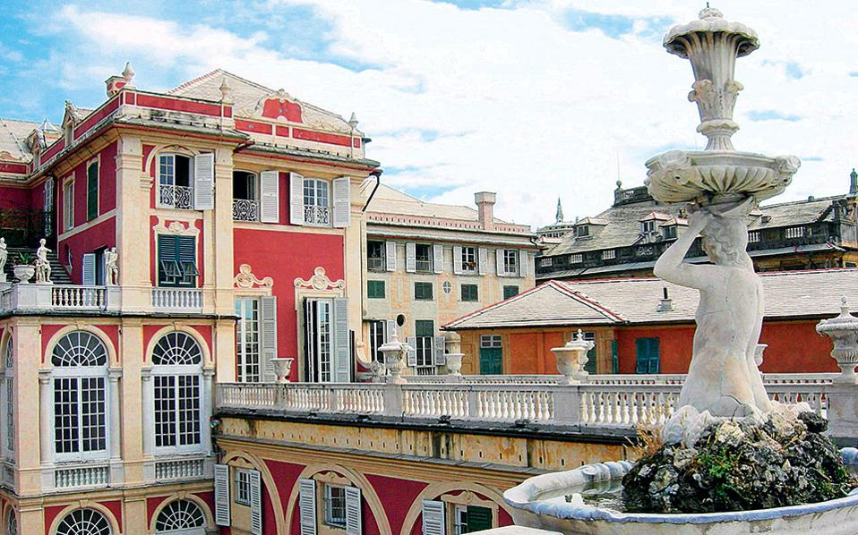 To Palazzo Reale αποτελεί εξέχον δείγμα γενοβέζικης αρχιτεκτονικής του 17ου αιώνα.