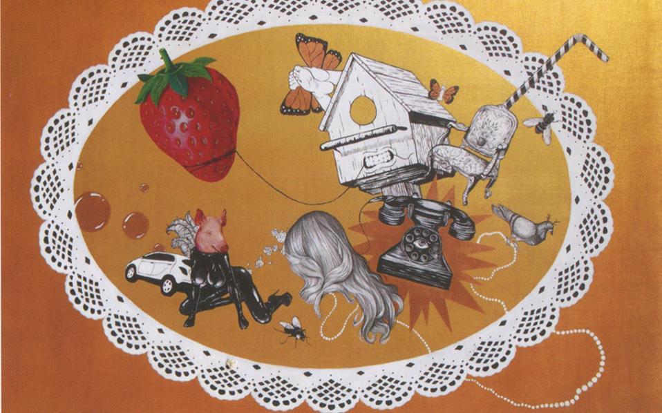Σταμάτης Θεοχάρης, «Art Nouveau», Γκαλερί Καπλανών 5.