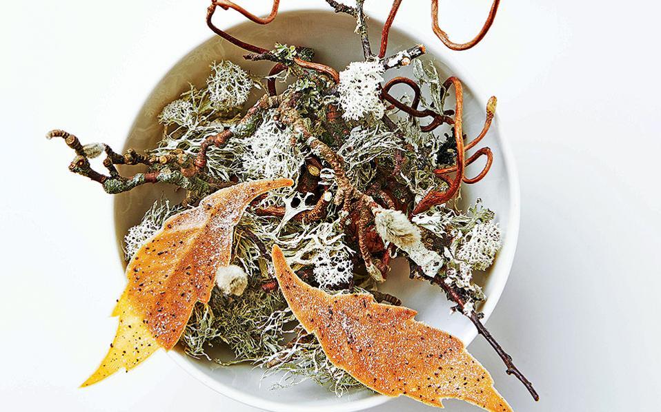 Geranium- σεφ Rasmus Kofoed δημιουργεί πιάτα βασισμένα στην εποχικότητα των υλικών.