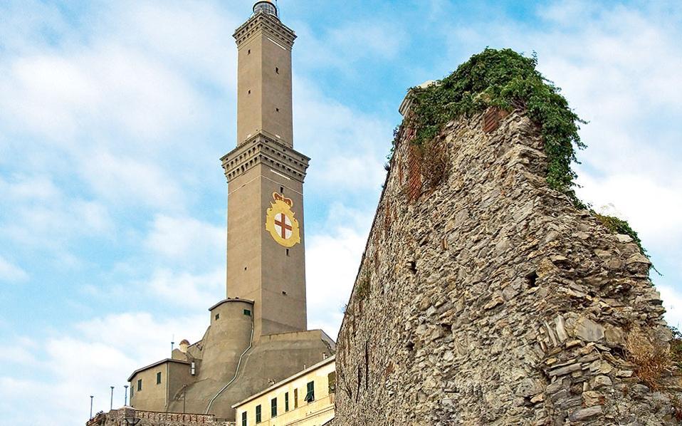 Ο φάρος-σύμβολο της Γένοβας λειτουργεί ακόμα και είναι ένας από τους παλαιότερους στον κόσμο.(Φωτογραφία: Getty images/Ideal image)