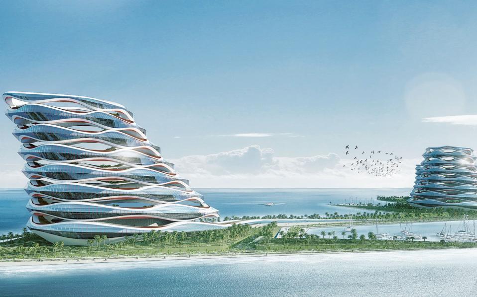 ΝΤΟΥΜΠΑΪ, νησί της Φεράρι. Αρχιτεκτονικό γραφείο: Ζάχα Χαντίντ