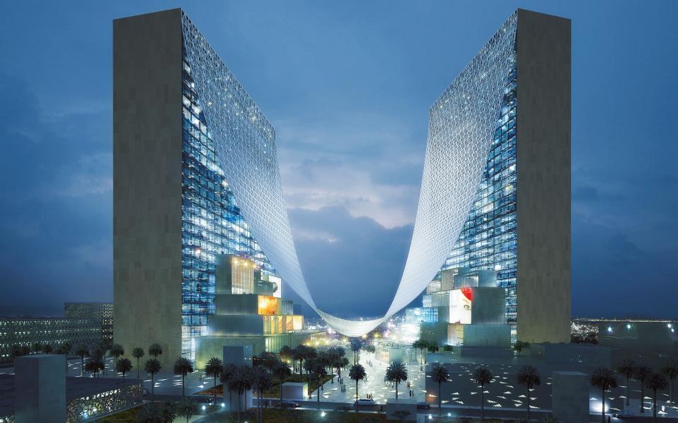 ΚΑΤΑΡ, το Media Center του Παγκοσμίου Κυπέλλου Ποδοσφαίρου του 2022. Αρχιτεκτονικό Γραφείο: BIG Architects