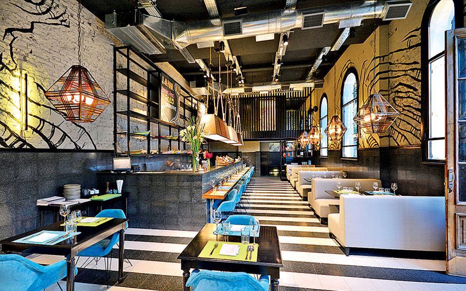 La Mar-Το εστιατόριο βρίσκεται στο Palermo Holywood, μία από τις πιο μοντέρνες γειτονιές του Μπουένος Αϊρες.