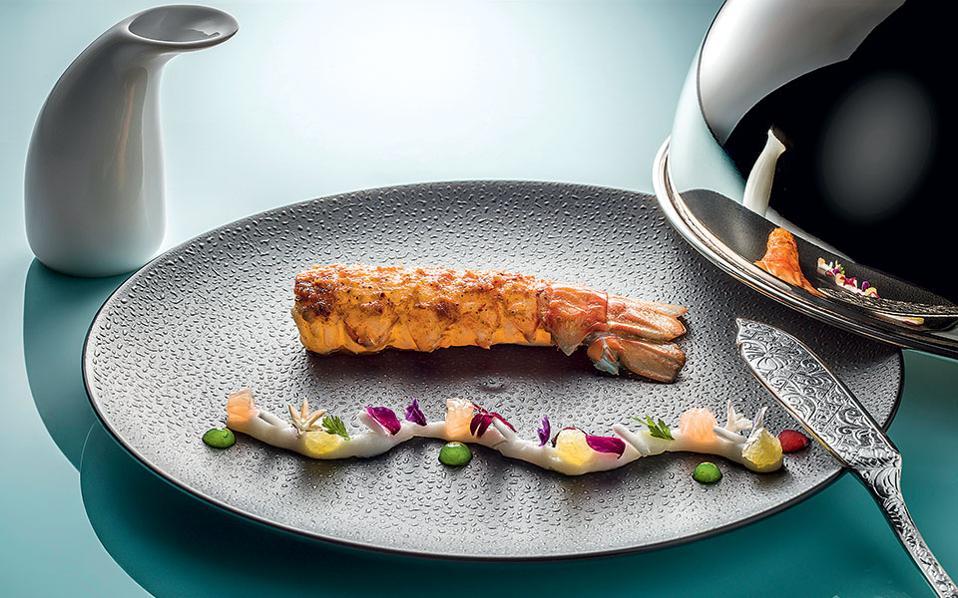 Paloma- O σεφ Nicolas Decherchi εστιάζει σε πιάτα δημιουργικής γαλλικής κουζίνας.