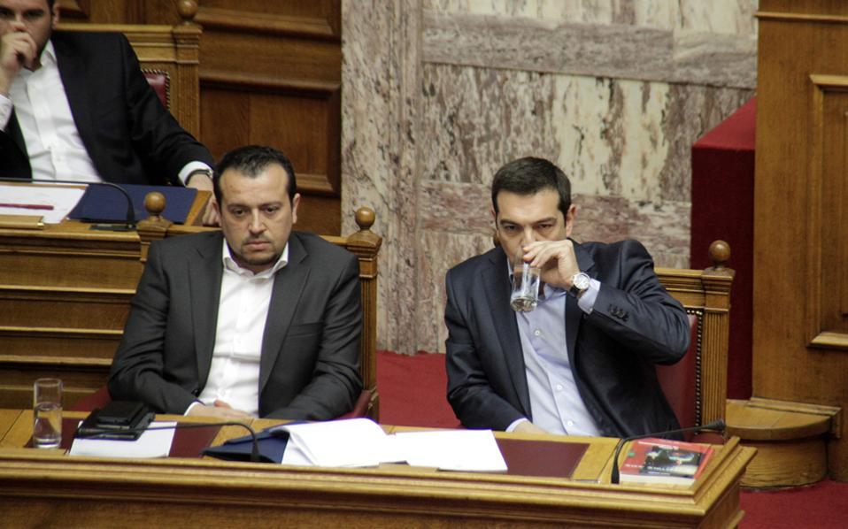 Ο κ. Τσίπρας «αγκάλιασε» τους χειρισμούς του κ. Νίκου Παππά, ξεκαθαρίζοντας ότι η μάχη για διαμόρφωση νέου τηλεοπτικού τοπίου αφορά κεντρική κυβερνητική επιλογή.