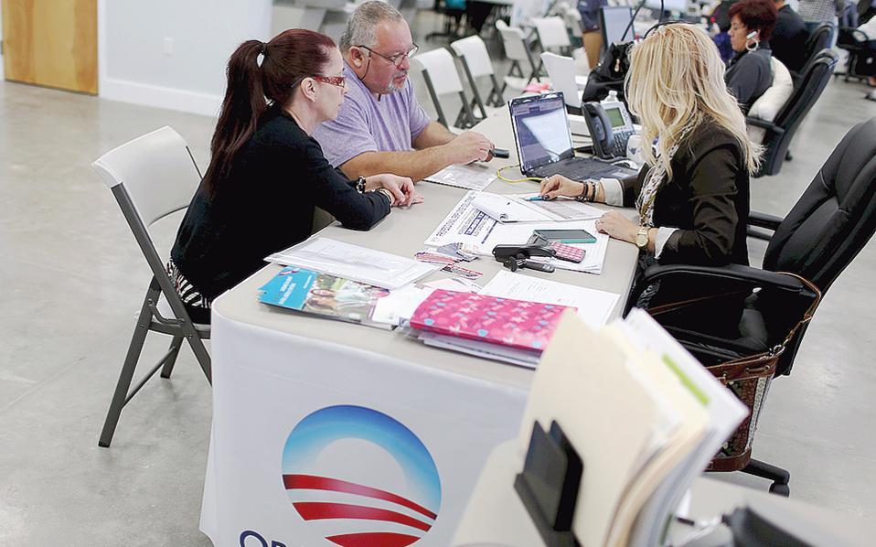 Αποχωρήσεις ασφαλιστικών εταιρειών από το Obamacare έχουν ήδη αναφερθεί σε πολιτείες όπως το Τέξας, η Αριζόνα, η Τζόρτζια και το Μισούρι, ενώ τρεις πολιτείες δεν έχουν δώσει ακόμη συγκεκριμένα στοιχεία.