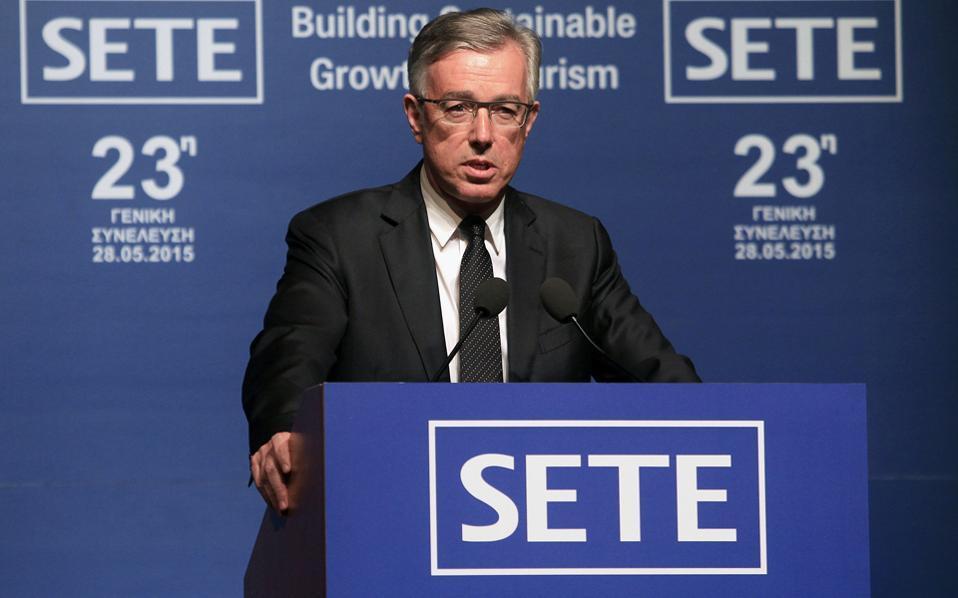 Ο πρόεδρος του ΣΕΤΕ, κ. Ανδρέας Ανδρεάδης.