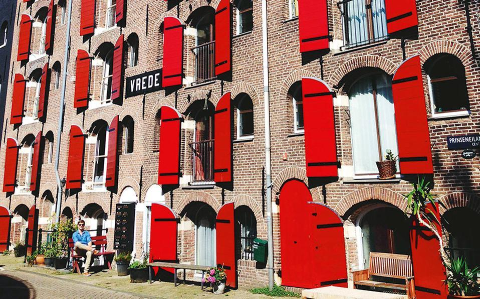 Στην περιοχή Westelijke Eilanden θα έχετε την ευκαιρία να θαυμάσετε την παραδοσιακή αρχιτεκτονική. (Φωτογραφία: Gerben van der zwaard)