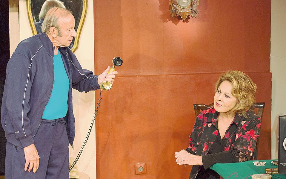 «Aναπάντεχες κλήσεις» για τη Nίτα Παγώνη και τον Mανώλη Δεστούνη, ηθοποιούς ρόλων με συνέπεια και βάθος, όπως στο έργο της Tούλας Mπούτου.