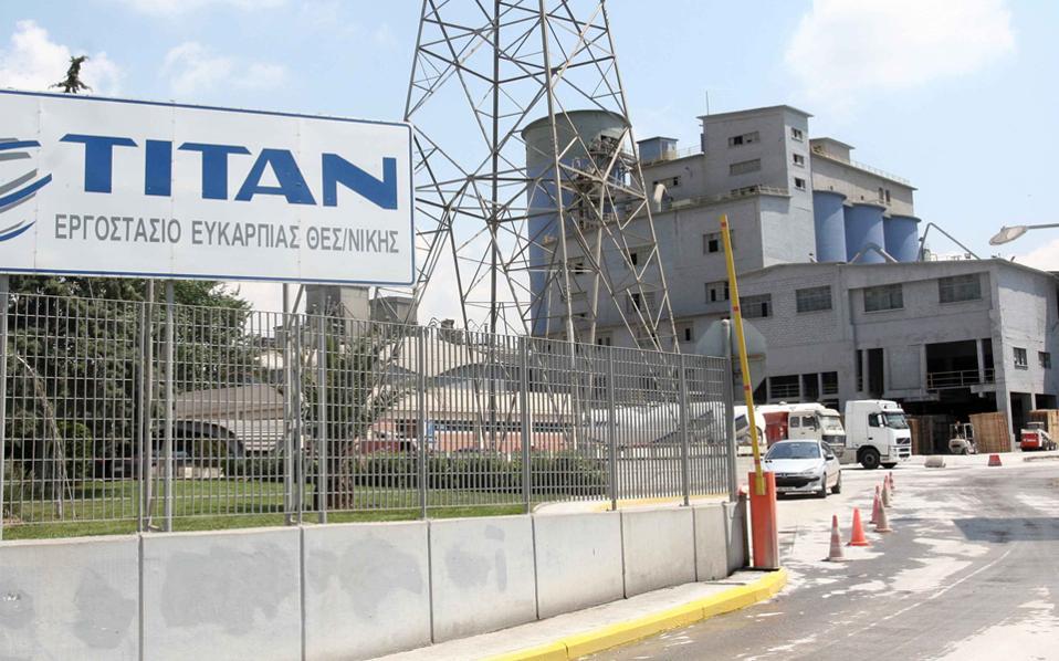 Τα κέρδη για τον όμιλο Τιτάν ανήλθαν σε 122 εκατ. ευρώ, έναντι 36,2 εκατ. ευρώ κατά το αντίστοιχο περυσινό εννεάμηνο.