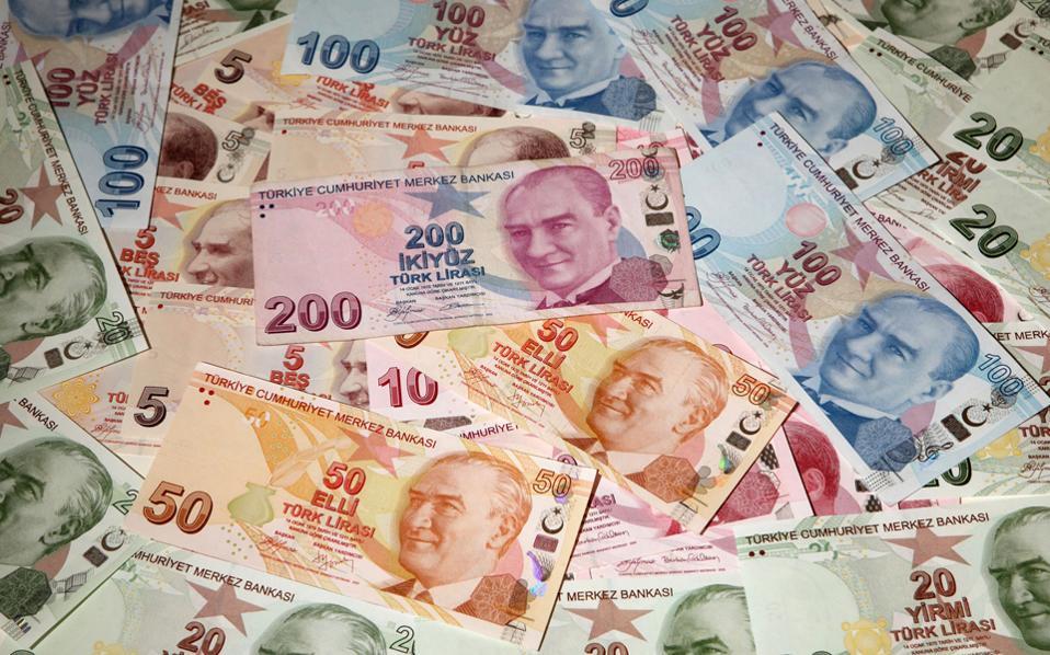 Το κόστος δανεισμού του τουρκικού Δημοσίου είναι υψηλότερο από κάθε άλλης αναπτυσσόμενης χώρας.
