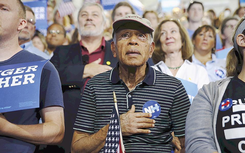 Το κλίμα των προεδρικών εκλογών και λίγο από τον πυρετό δίνουν οι φωτογραφίες εν αναμονή του αποτελέσματος.