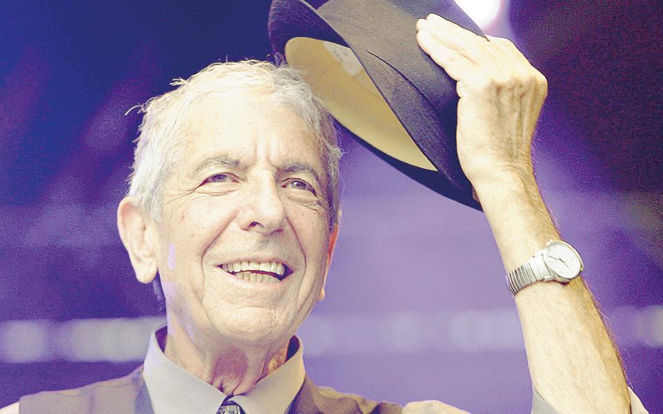 Λέοναρντ Κοέν. Θα μπορούσε κάλλιστα να τιμηθεί με το βραβείο Νομπέλ, στα πρότυπα της πρόσφατης βράβευσης του Μπομπ Ντίλαν.