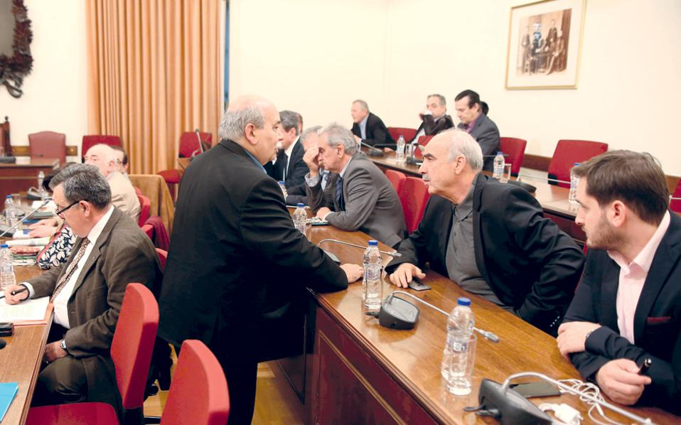 Με θετικά λόγια για τους χειρισμούς Βούτση μίλησαν στο σύνολό τους τα μέλη της Διάσκεψης των Προέδρων.