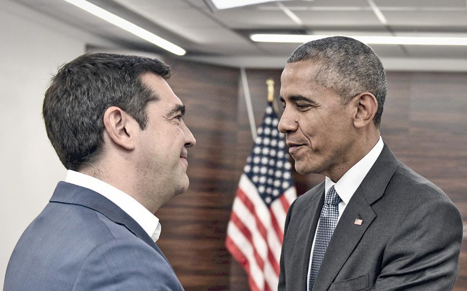 Ο Μπαράκ Ομπάμα, ο οποίος έδωσε το «παρών» σε κρίσιμες στιγμές για την Ελλάδα σε όλη τη διάρκεια της κρίσης, δείχνοντας έμπρακτο ενδιαφέρον για την παραμονή της χώρας σε ευρωπαϊκή τροχιά, θα συναντηθεί με τον Πρόεδρο της Δημοκρατίας Πρ. Παυλόπουλο και τον πρωθυπουργό Αλ. Τσίπρα.