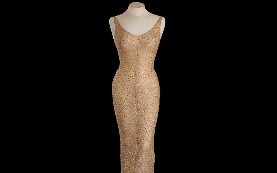 «Happy Birthday Mr President», είχε τραγουδήσει η Μέριλιν Μονρόε φορώντας το εμβληματικό φόρεμα.
