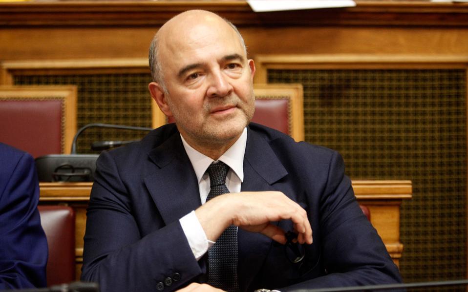 «Αυτοί που έχουν περιθώριο στον προϋπολογισμό τους θα πρέπει να ξοδέψουν και να επενδύσουν περισσότερα», είπε ο επίτροπος Οικονομικών Πιερ Μοσκοβισί (φωτ.), αλλά συγχρόνως τόνισε ότι οι χώρες που δεν έχουν επιτύχει τους δημοσιονομικούς τους στόχους θα πρέπει να επικεντρωθούν στο να εκπληρώσουν τους στόχους του προϋπολογισμού.