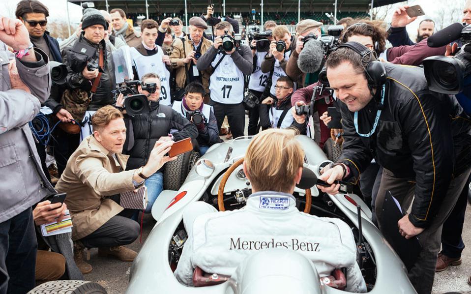 Ο δύο φορές Παγκόσμιος Πρωταθλητής της Formula 1 Mika Häkkinen βρέθηκε στο 74ο Goodwood Members' Meeting