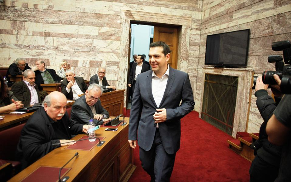 Ο κ. Αλέξης Τσίπρας θα μιλήσει σήμερα στην Κοινοβουλευτική Ομάδα του ΣΥΡΙΖΑ.