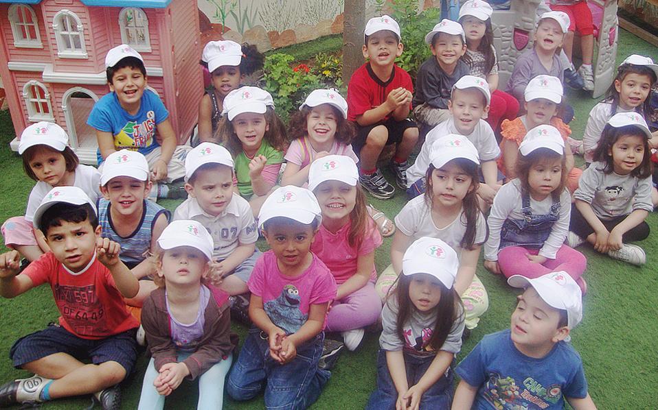 Tα παιδιά του Παιδικού Σταθμού, που λειτουργεί από το 2007, μαθαίνουν την καλή πλευρά της ζωής χάρις στους «Φίλους του Παιδιού».