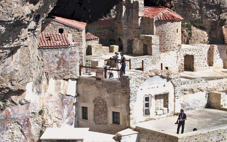 Από πέρυσι το φθινόπωρο παραμένει κλειστό το μοναστήρι στην Τραπεζούντα προκειμένου να γίνουν εργασίες.