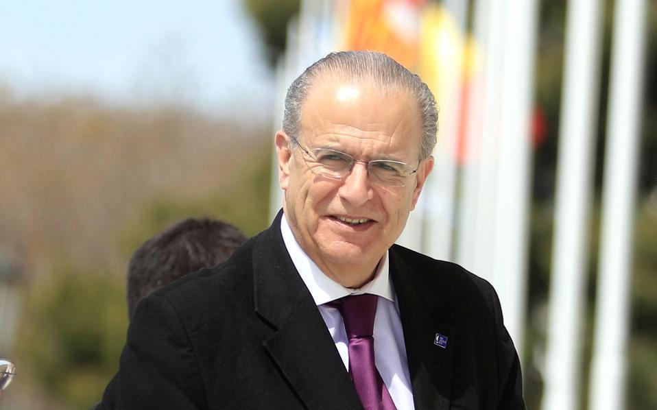 Ο υπουργός Εξωτερικών της Κύπρου κ. Ι. Κασουλίδης.