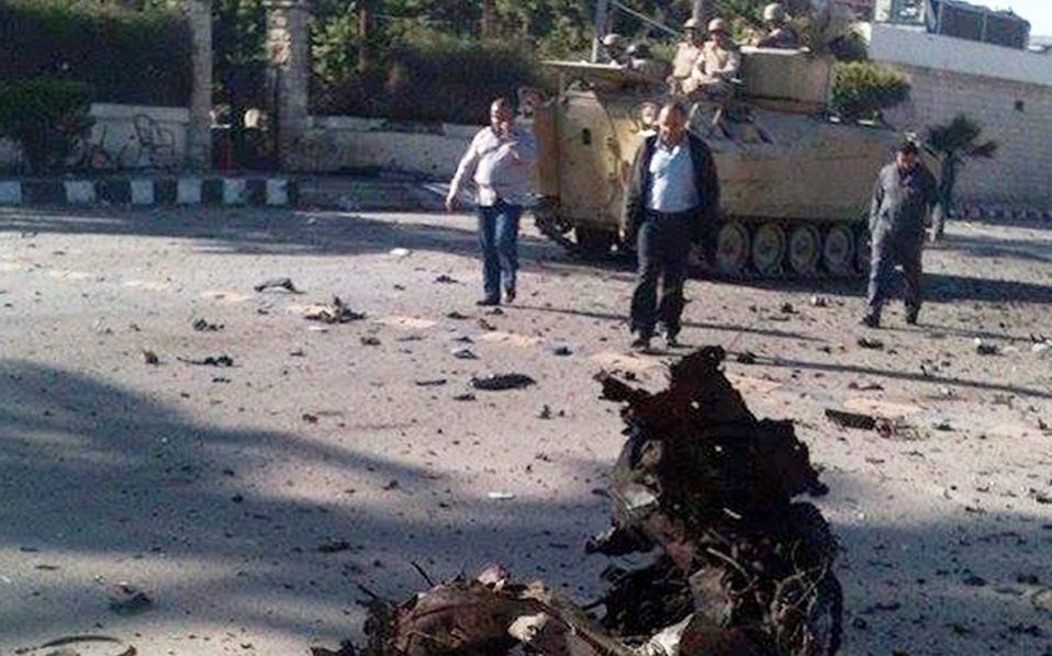 Φωτογραφία από περυσινή αντίστοιχη επίθεση στο Σινά.