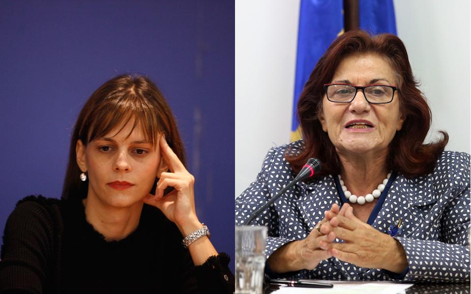 Και στο Μαξίμου και στον ΣΥΡΙΖΑ θεωρούν ότι η συμβίωση της νέας υπουργού κ. Εφης Αχτσιόγλου (επάνω) με την κ. Θεανώ Φωτίου (επάνω) στο υπουργείο Εργασίας θα είναι προβληματική.