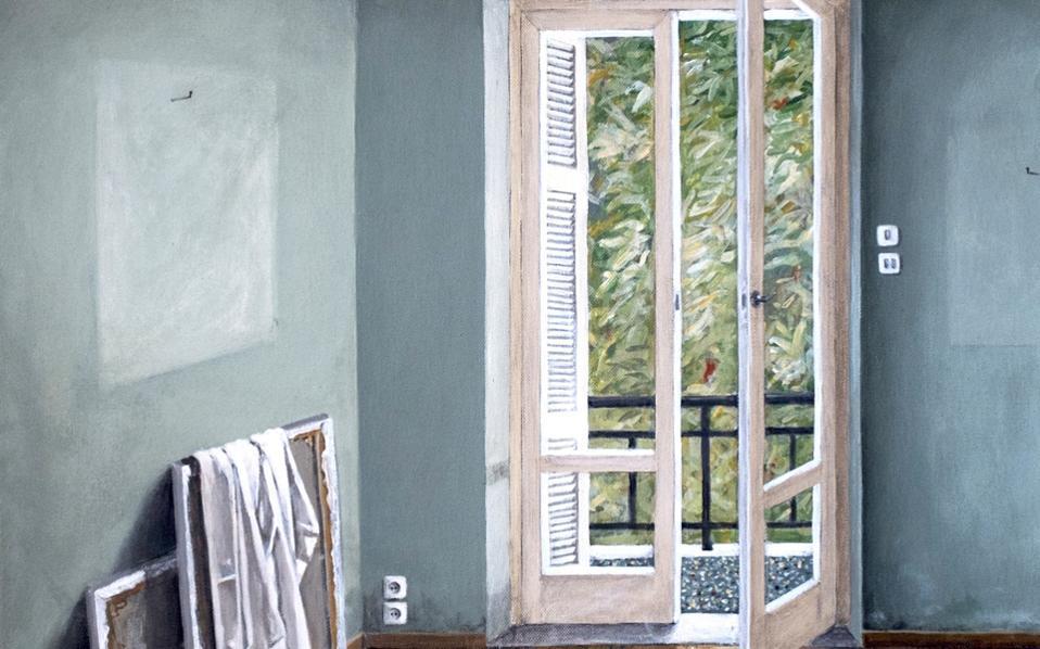 «Μπαλκονόπορτα». Εργο του Μηνά Καμπιτάκη, Gallery Genesis (έως 10/12).