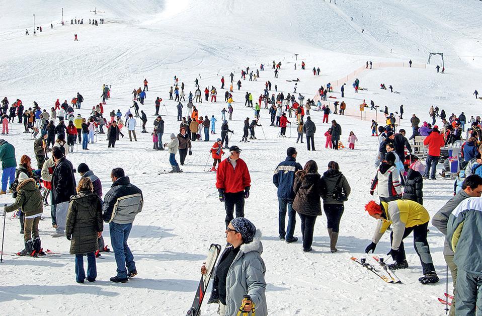 Το χιονοδρομικό κέντρο του Φαλακρού. (Φωτογραφία: ΚΛΑΙΡΗ ΜΟΥΣΤΑΦΕΛΛΟΥ)