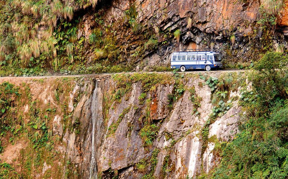 4. El Camino a los Yungas, Βολιβία. (Φωτογραφία: Visualhellas.gr)