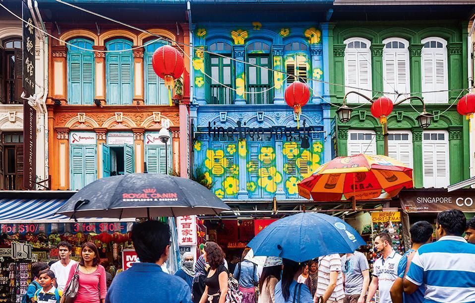 Chinatown: πολύβουη, εμπορική και απόλυτα αυθεντική. (Φωτογραφία: GETTY IMAGES/IDEAL IMAGE)