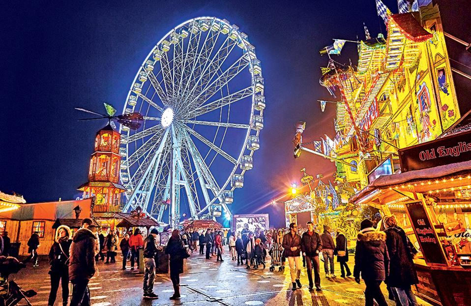 1. Hyde Park Winter Wonderland, Λονδίνο. (Φωτογραφία: GETTY IMAGES/IDEAL IMAGE)