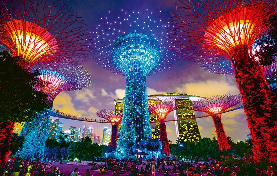 Οι κήποι με τα τεχνητά δέντρα. (Φωτογραφία: GETTY IMAGES/IDEAL IMAGE)