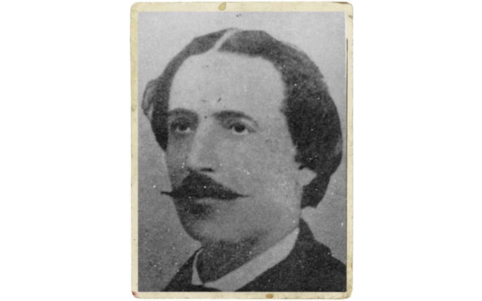 Ο Δημήτριος Ν. Βερναρδάκης  (1833-1907), πολυπράγμων λόγιος, θεατρικός συγγραφέας και καθηγητής Ιστορίας του Πανεπιστημίου Αθηνών.