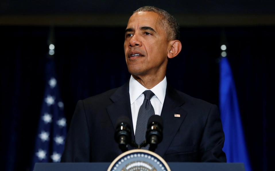 Με μήνυμα για ελάφρυνση χρέους και επαίνους για προσαρμογή ο Ομπάμα στην Αθήνα