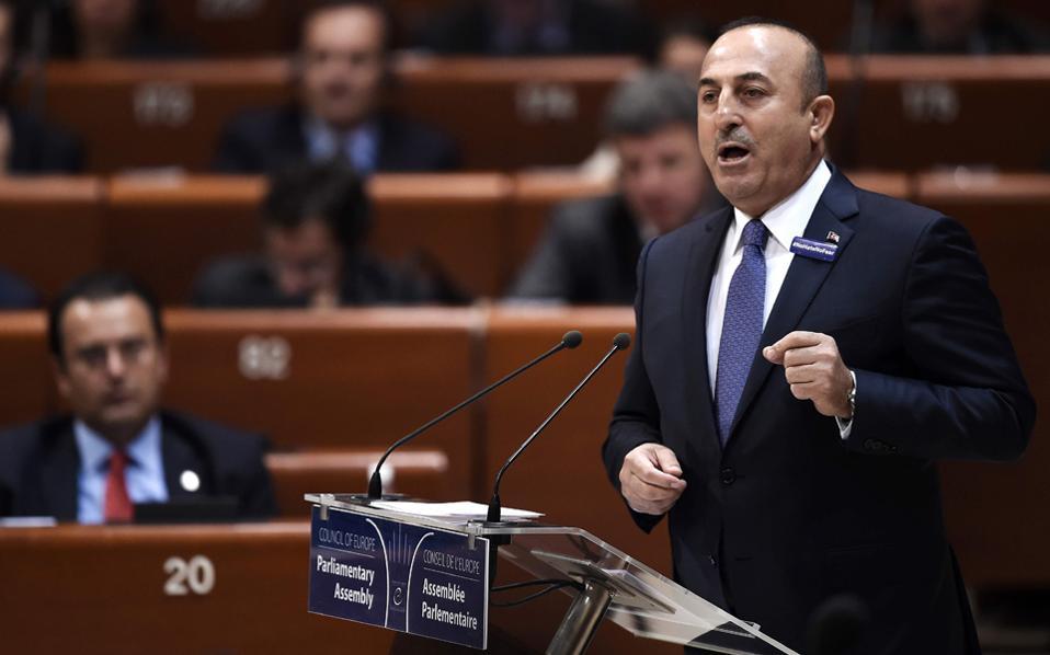 Η στρατηγική των Τουρκοκυπρίων τέθηκε επί τάπητος, παρόντος του Τούρκου υπουργού Εξωτερικών κ. Τσαβούσογλου.