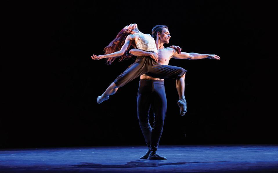 Η Ν. Οσίποβα και ο Σ. Πολούνιν παρουσιάζουν χορογραφίες των Τσερκάουι, Μάλιφαντ και Πίτα σε μια παράσταση του λονδρέζικου Sadler's Wells.