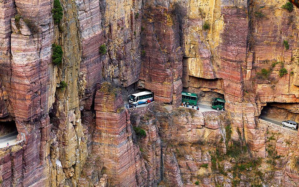 5. Guoliang Tunnel Road, Κίνα. (Φωτογραφία: Shutterstock)