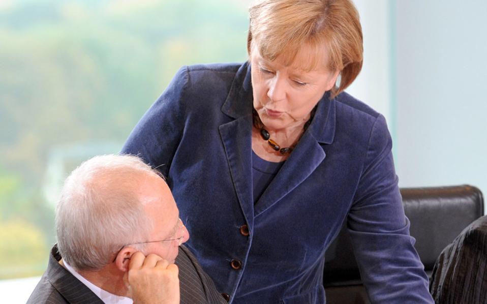 Μέρκελ και Σόιμπλε θεωρούν ότι η κυβέρνηση κάνει αρκετά βήματα προς τη σωστή κατεύθυνση. Παρ' όλα αυτά, υπάρχουν διαφωνίες σε πολλά θέματα.