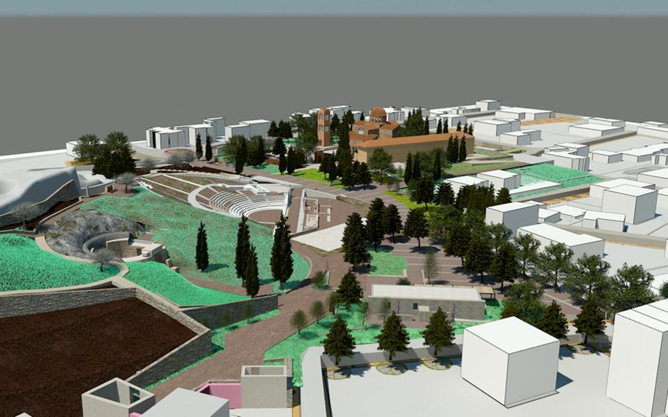 Το Αρχαιολογικό Πάρκο Ορχομενού (μελέτη Δημήτρη Διαμαντόπουλου και συνεργατών) είναι πρωτοβουλία του «Διαζώματος», προς πλήρη ένταξη στο ΕΣΠΑ από την Περιφέρεια Στ. Ελλάδας.
