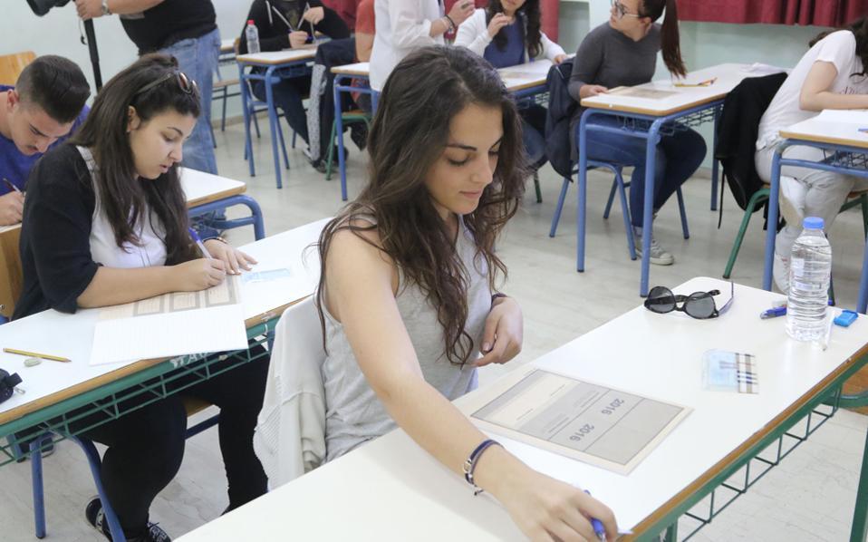 Οι μαθητές της επόμενης Α΄ Λυκείου, δηλαδή του σχολικού έτους 2017-2018, θα είναι οι πρώτοι που θα «δοκιμάσουν» το νέο εξεταστικό σύστημα το 2020.