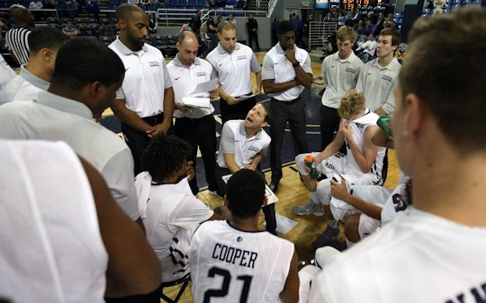 Ο Δ. Κυριακού αποδέχθηκε την πρόταση για το διδακτορικό του στο πανεπιστήμιο της Νεβάδα και είναι μέλος του τεχνικού τιμ της ανδρικής ομάδας μπάσκετ, η οποία έχει προπονητή τον Ερικ Μάσελμαν.