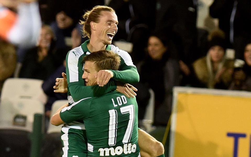 Ο Λουντ έδωσε μια πολύ σημαντική νίκη στον Παναθηναϊκό στο ντέρμπι με τον ΠΑΟΚ, στο ντεμπούτο του Ουζουνίδη στον πάγκο των «πρασίνων».