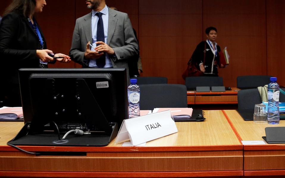 Η κενή θέση του Παντοάν στο χθεσινό Eurogroup πυροδότησε τα σενάρια για την πρωθυπουργοποίησή του.