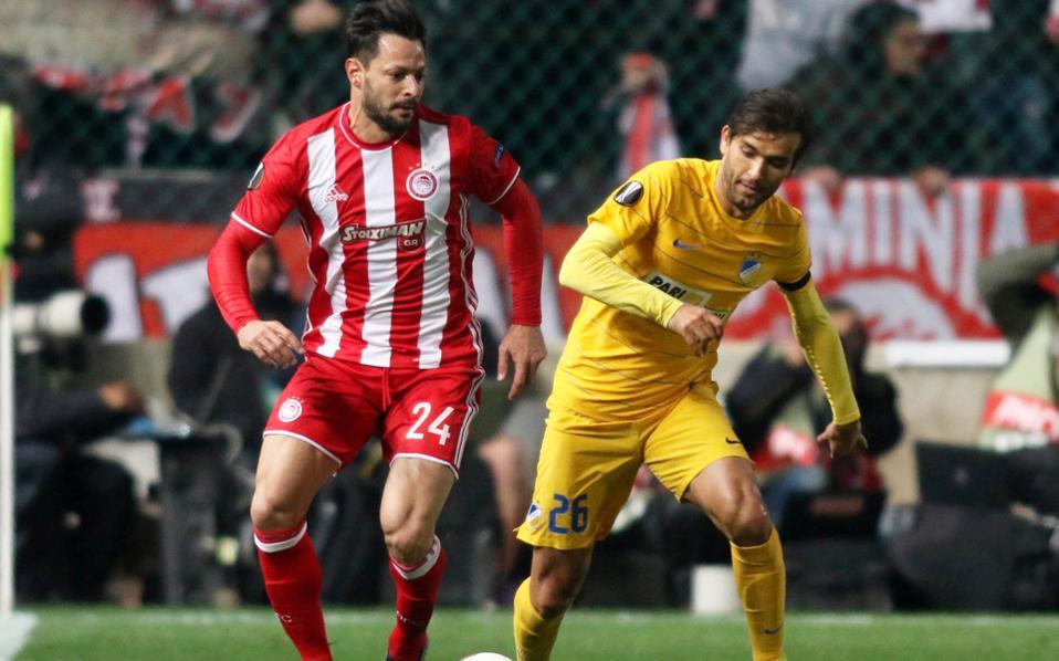Ο Ολυμπιακός ηττήθηκε με 2-0 και προκρίθηκε στην ισοβαθμία με τη Γιουνγκ Μπόις.