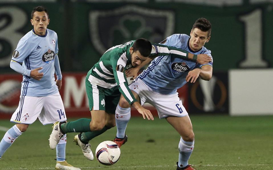 Ο Παναθηναϊκός ηττήθηκε 2-0 στη Λεωφόρο από τη Θέλτα, η οποία πήρε και την πρόκριση.