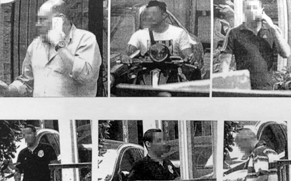 Φωτογραφικό υλικό που συγκέντρωσε η ΕΛ.ΑΣ. κατά τη διάρκεια της πολύμηνης έρευνας.